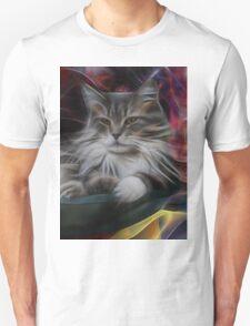 Bowl Of More Fur (Square Version) - By John Robert Beck Unisex T-Shirt