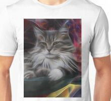 Bowl Of More Fur (Square Version) - By John Robert Beck Unisex T-Shirt