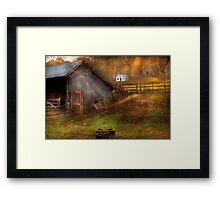 Country - Morristown, NJ - Rural refinement Framed Print
