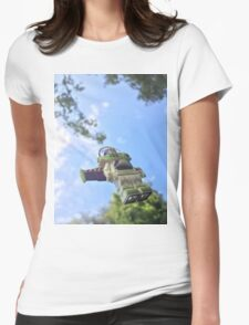 Brickography - Infinity and Beyond Womens Fitted T-Shirt