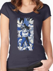 //The Saiyans// Women's Fitted Scoop T-Shirt