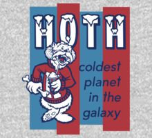 Coldest In The Galaxy - HOTH ICEE One Piece - Long Sleeve