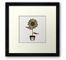 Flower & Pot IV Framed Print