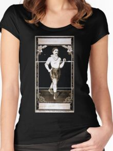 Performing Arts Posters Boxer 1822 Women's Fitted Scoop T-Shirt
