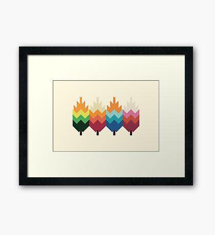 Bohemian Woods Framed Print