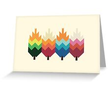 Bohemian Woods Greeting Card