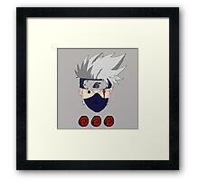 Kakashi Faced 0001 Framed Print