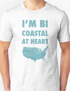Bicoastal At Heart T-Shirt