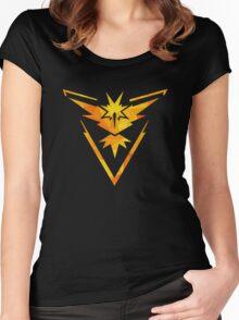 Geometric Team Instinct Women's Fitted Scoop T-Shirt