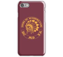 Redskins - Sons of Washington iPhone Case/Skin
