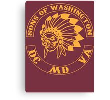 Redskins - Sons of Washington Canvas Print