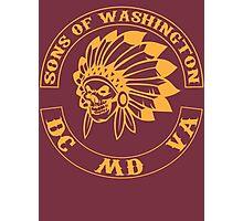 Redskins - Sons of Washington Photographic Print