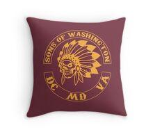 Redskins - Sons of Washington Throw Pillow
