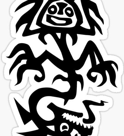Black & White Logo Lionhead Studios Sticker