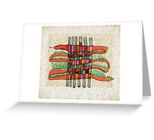Tennessee Rattler Greeting Card