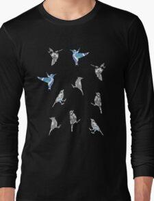 Blue Birds Long Sleeve T-Shirt