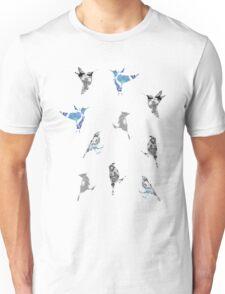 Blue Birds Unisex T-Shirt