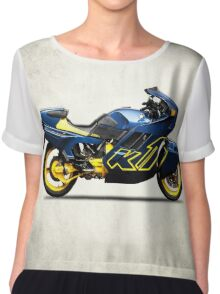 The K1 Motorcycle Chiffon Top
