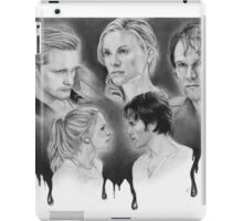 True Blood Love Triangle iPad Case/Skin