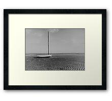 Washed Ashore 2 Framed Print