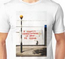 Fitzrovia Rat in situ. Unisex T-Shirt