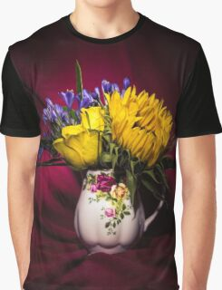 Still Life Flowers 1 Graphic T-Shirt