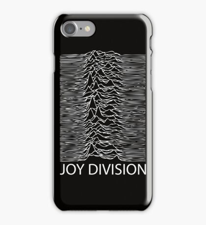 Joy Division W iPhone Case/Skin