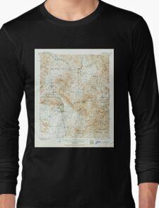 USGS TOPO Map Arizona AZ Congress 315351 1903 125000 Long Sleeve T-Shirt