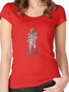 Rust Newman Soldier Women's Fitted Scoop T-Shirt