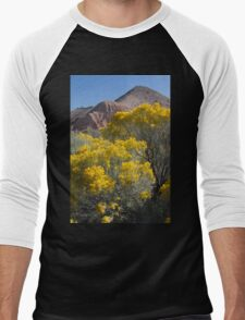 Blooming Sage Men's Baseball ¾ T-Shirt
