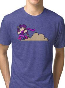 The ultimate technique - Purple Tri-blend T-Shirt