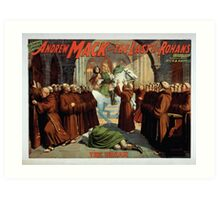 Performing Arts Posters The singing comedian Andrew Mack in the The last of the Rohans by Ramsay Morris 1111 Art Print