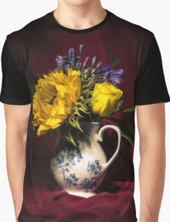 Still Life Flowers 3 Graphic T-Shirt