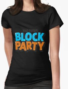 block party (mad decent) Womens Fitted T-Shirt