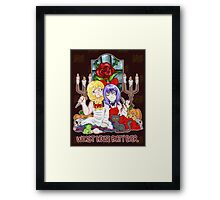 Worst House Party Ever Framed Print