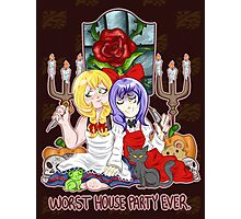 Worst House Party Ever Photographic Print