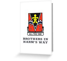 509th - Brothers in Harm's Way Greeting Card