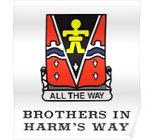 509th - Brothers in Harm's Way Poster