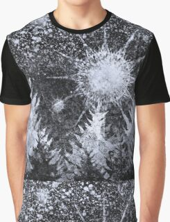 Midnight Hail Storm Graphic T-Shirt