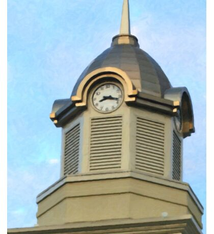 Morgan County Courthouse Clock Tower Sticker