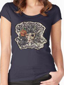 medusa/skinflower Women's Fitted Scoop T-Shirt