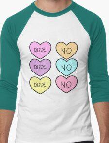 HEARTS TUMBLR  Men's Baseball ¾ T-Shirt