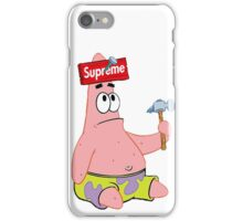Supreme Patrick Star  iPhone Case/Skin