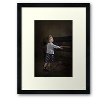 Broken Hearted Melody Framed Print
