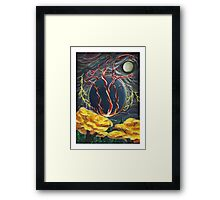 The Fires of Creation Framed Print