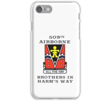 509th Airborne - Brothers in Harm's Way iPhone Case/Skin