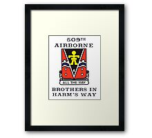 509th Airborne - Brothers in Harm's Way Framed Print