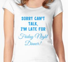 Dinner With the Gilmores Women's Fitted Scoop T-Shirt
