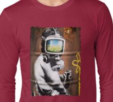 Banksy at HMV Long Sleeve T-Shirt
