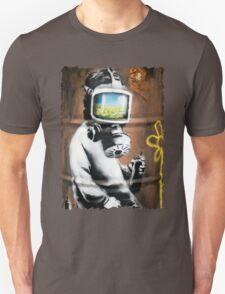 Banksy at HMV Unisex T-Shirt